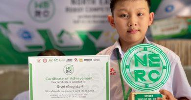 นักเรียนโปรแกรม  Intensive English Program คว้ารางวัลชนะเลิศการแข่งขันรายการ SUMO 1 KG RC Junior