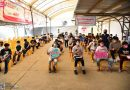 นักเรียนโรงเรียนแสงทองวิทยาเข้ารับการฉีดวัคซีน Pfizer-BioNTech วันแรกจำนวน 316 คน